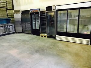 COOLERS, FREEZERS, PREP & PIZZA TABLES, ICE MACHINES & LOTS MORE