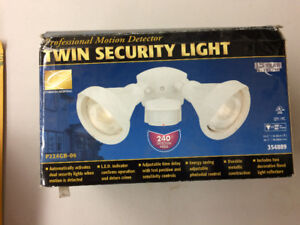 Twin Security Light Outdoor