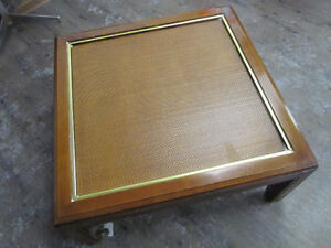 Decent Looking & Good Condition Wooden Square Coffee Table