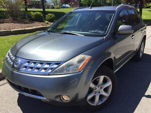 2007 Nissan Murano SE AWD SUV, Crossover fully loded nav back up