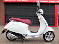 PIAGGIO VESPA PRIMAVERA 50 2T 2015 ONE OWNER FDSH NEW MOT LOW MILES HPI WARRANTY