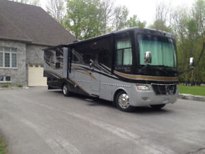 2010 Clean A class Motorhome low miles, Certified.