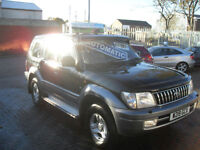 TOYOTA LANDCRUISER COLORADO 3.0TD, 8 SEATER AUTOMATIC, 2000 GX, AIR CON