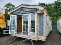 Static caravan Willerby Vogue 38x12 1Bed DG/CH - Free UK delivery.