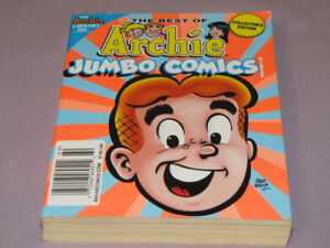 BOOK THE BEST OF ARCHIE JUMBO COMIC