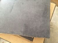 Floor Tiles Ceramic Charcoal Black Grey Tiles 4 boxes of 11 tiles