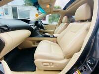 2012 Lexus RX 450H 3.5 Advance CVT 4x4 5dr (Sunroof) SUV Petrol/Electric Hybrid