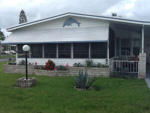NORTH FORT MYERS DOUBLEWIDE MOBILE HOME RENTAL