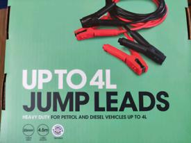 Jump leads, heavy duty
