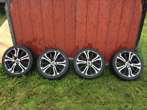 """17"""" RTX Rims with tires"""