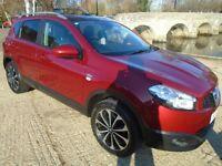 Nissan Qashqai 1.6 N-TEC (red) 2011