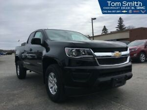 2018 Chevrolet Colorado   WT CONVENIENCE/APPEARANCE PKG/REAR VIS