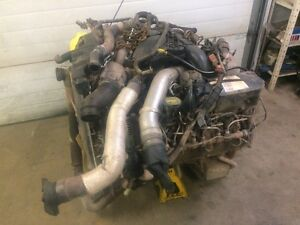 2011 FORD 6.7L DIESEL ENGINE. 124KM F250 F350 F450 F550