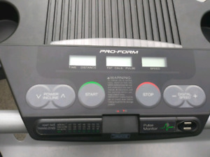 Treadmill Pro-Form 350s. Auto Incline
