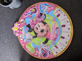 Minnie mouse dance mat