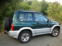 Suzuki Grand Vitara 2.0TD SE 4X4 NEW MOT + CAMBELT KIT INC WATER PUMP