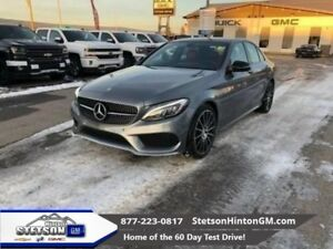 2016 Mercedes Benz C-Class 4MATIC Sedan  - Sunroof - $295.79 B/W