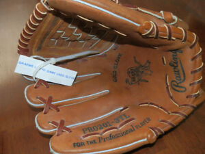 Rawlings Pro Infield/Pitcher Baseball Glove-Official Game Used