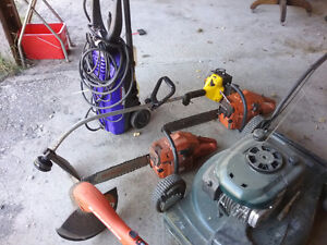 Home and Garden Power Tools Collection