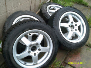 BMW Rims & Tires $275.00 or  Best reasonable offer