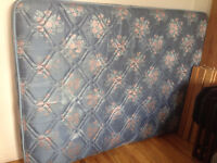 FREE QUEEN SIZE MATTRESS VERY CLEAN + DINING TABLE
