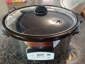 6.5q Stainless Slow Cooker (Never Used)