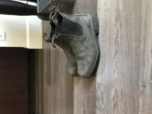 Womens Hunter rain boots and Blundstone boots