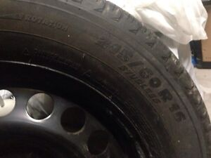 Michelin X-Ice 3 winter tires with rims Kitchener / Waterloo Kitchener Area image 6
