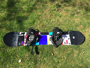Only Used Once RIDE DHK Snowboard
