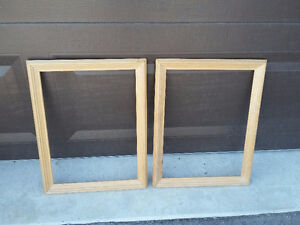 Set of 2 raw wooden framed decorative DIY supplies Brand new London Ontario image 5
