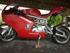 Pocket bike ducati style 350$$