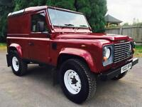 2002 Land Rover Defender 90 Td5 County Van, Very tidy