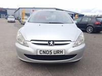 Peugeot 307 1.6 16v 2005MY Quiksilver 4door new 12 month MOT