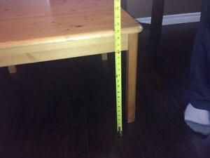 "2 Large ""IKEA Pine"" End Tables Kitchener / Waterloo Kitchener Area image 6"