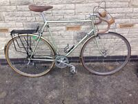 Raleigh Record Ace Road/ Touring bike( Early 1980s) 531 Reynolds frame