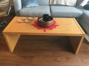 Cute Wooden Coffee Table
