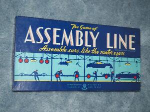 Assembly Line Vintage Board Game