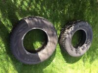 2 x 265 70 16 L200 tyres