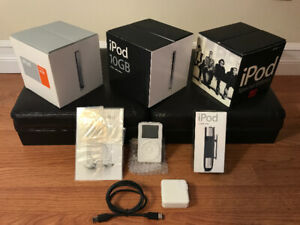 Apple iPod Collection - 1st Generation to U2 Special Edition!!