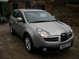 2008 Subaru Tribeca B9 3.0 ( grey lth ) auto SE5 Now only £4795!!