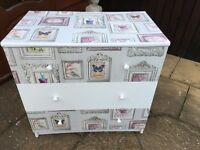 Shabby chic chest drawers b on Avon ASAP pls £30