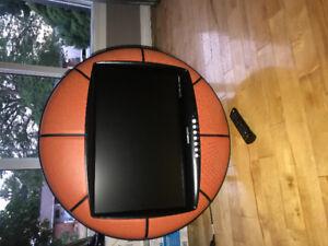 """Basketball 28"""" flat screen TV"""