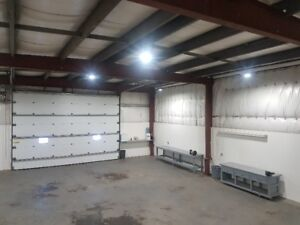 Shop Space with 16' x16' Overhead Door and Yard Space