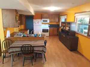 Huge room in basement suite for rent. Price negotiable!