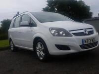 Vauxhall/Opel Zafira 1.6i 16v VVT white ( 115ps ) Exclusiv 2013 bargain????