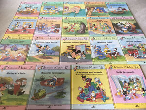 Collection livres « Je lis avec Mickey » Disney