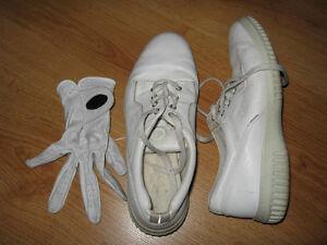 Souliers de quilles avec gant