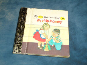Little Little Golden Book #11 We help Mommy Hardcover