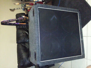 Two 412 Guitar Cabs