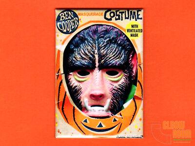 Ben Cooper Wolfman costume box art 2x3